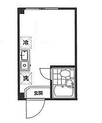 東京都品川区南大井2丁目の賃貸アパートの間取り
