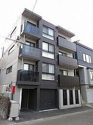 北海道札幌市豊平区豊平五条6丁目の賃貸マンションの外観
