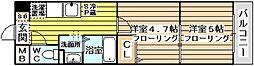 アミスタ菅原[510号室]の間取り