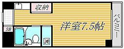 フォレスト駒沢[3階]の間取り