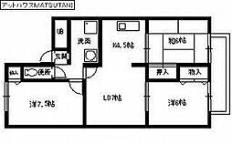 アットハウスMATSUTANI 2[2階]の間取り