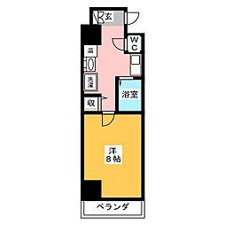 プラチナ名古屋ビル[10階]の間取り