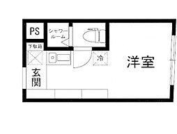 the eight[4階]の間取り