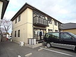 兵庫県姫路市飾磨区構3丁目の賃貸アパートの外観