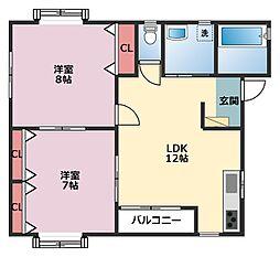 [テラスハウス] 神奈川県横浜市鶴見区下末吉4丁目 の賃貸【/】の間取り