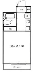 メゾンK[3階]の間取り