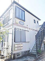 東京都足立区花畑7丁目の賃貸アパートの外観