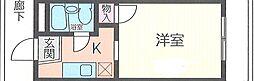 クリオ新子安弐番館[302号室]の間取り
