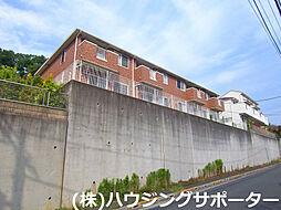 東京都八王子市兵衛2丁目の賃貸アパートの外観