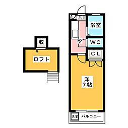 プロシード21[2階]の間取り