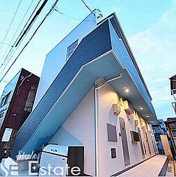 愛知県名古屋市北区金城3丁目の賃貸アパートの外観