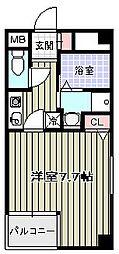 エスペランサ国分町[3階]の間取り