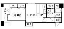 アイビースクエアマンション[9階]の間取り