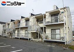 ハウスJJ B棟[2階]の外観