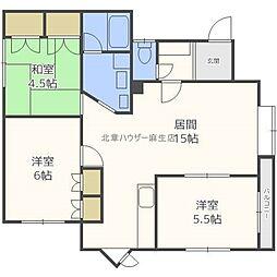 メゾン慶新エイト[2階]の間取り
