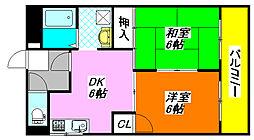 坂田マンション 301号室[3階]の間取り