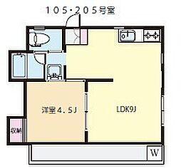 第2豊田マンション[2階]の間取り