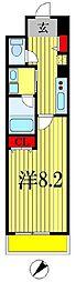 レオセントラルガーデン[4階]の間取り
