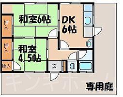[一戸建] 広島県安芸郡海田町三迫2丁目 の賃貸【/】の間取り