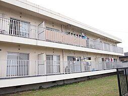 西新在家マンション[1階]の外観