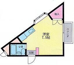 ウイングマンション青木[306号室]の間取り