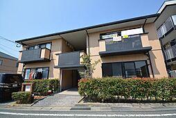 福岡県北九州市小倉南区中曽根4の賃貸アパートの外観