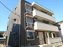 神奈川県川崎市幸区南加瀬5丁目の賃貸アパートの外観