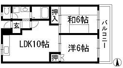 メールメゾン渋谷[3階]の間取り