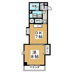 フルールST[2階]の間取り