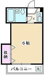 埼玉県朝霞市根岸台5丁目の賃貸マンションの間取り