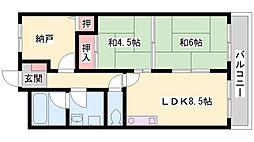 ベルトピア東加古川[306号室]の間取り