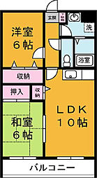 三島屋マンション[106号室]の間取り