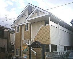 兵庫県尼崎市元浜町3丁目の賃貸アパートの外観