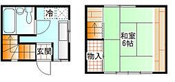 [一戸建] 神奈川県小田原市栄町1丁目 の賃貸【/】の間取り