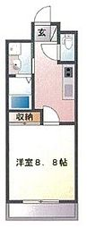東京都葛飾区西新小岩3丁目の賃貸マンションの間取り