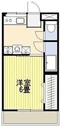 八木橋ワラビマンション[3階]の間取り