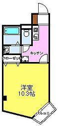 スマートコーポラス bt[305kk号室]の間取り