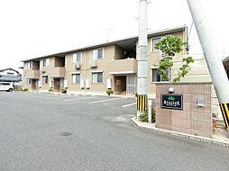 福岡県久留米市長門石1丁目の賃貸アパートの外観