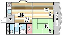 神鉄有馬線 鵯越駅 徒歩16分