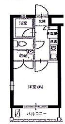スカイパレス西新宿[108号室号室]の間取り