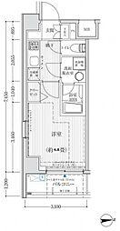 リライア吉野町II[4階]の間取り