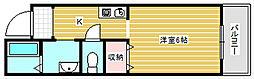 アスロアーク[5階]の間取り