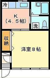 アピオ六浦 D棟[102号室号室]の間取り