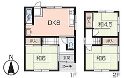 [一戸建] 兵庫県姫路市北今宿3丁目 の賃貸【/】の間取り