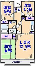 イングス宇田川[301号室]の間取り