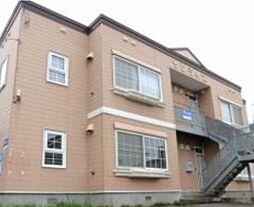北海道札幌市南区川沿三条4丁目の賃貸アパートの外観