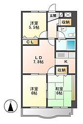 メゾン五反田[2階]の間取り