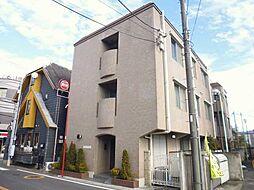 東京都調布市小島町1丁目の賃貸マンションの外観