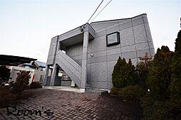 群馬県前橋市箱田町の賃貸アパートの外観