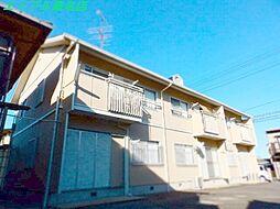 三重県桑名市福江町の賃貸アパートの外観